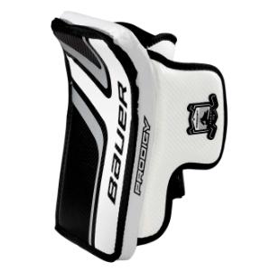Ice Hockey Goalie Protective Glove And Blocker Bauer Prodigy