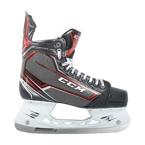 CCM Junior JetSpeed Control Ice Hockey Skates Thumbnail