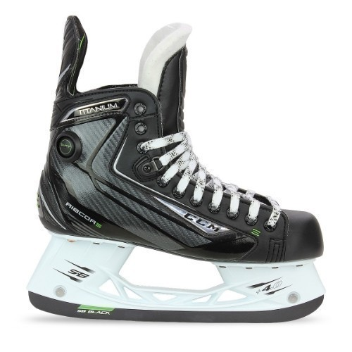 CCM RIBCORE TITANIUM JUNIOR ICE HOCKEY SKATE Thumbnail