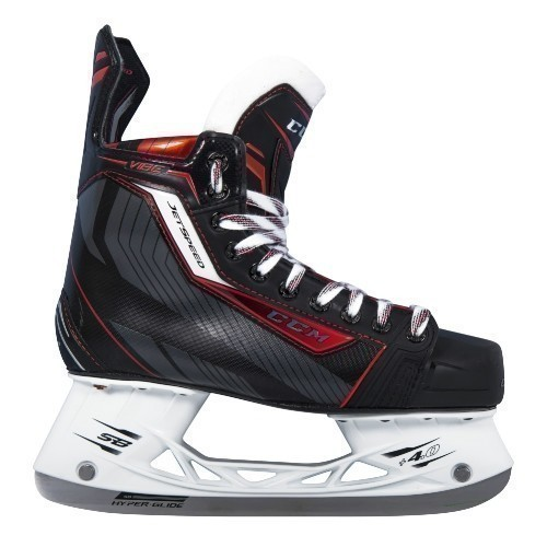 CCM JetSpeed Vibe Junior Ice Hockey Skates Thumbnail