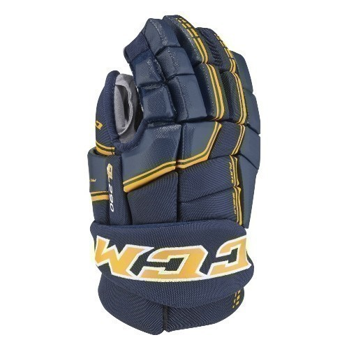 CCM QLT 290 JUNIOR HOCKEY GLOVES Thumbnail