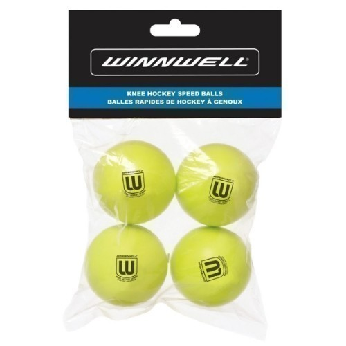 Winnwell Knee Hockey Ball 4Pk Thumbnail