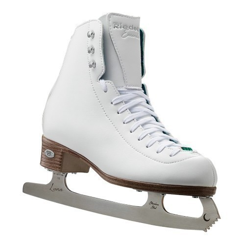 Riedell Junior 19 Emerald Figure Skates Thumbnail