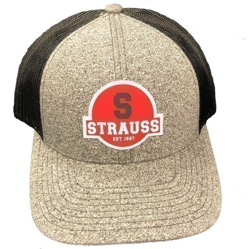 Strauss Red S PVC Patch Hat Thumbnail