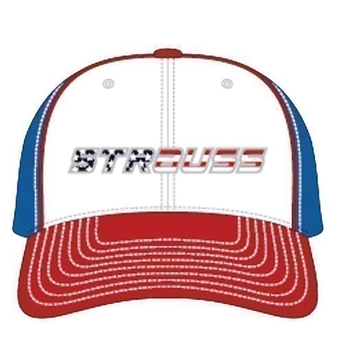 Strauss American Flag Fitted Cap Thumbnail